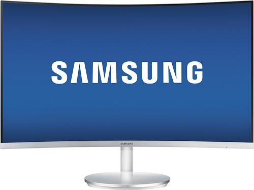 Samsung - CF591 Series 27 LED Monitor - Silver