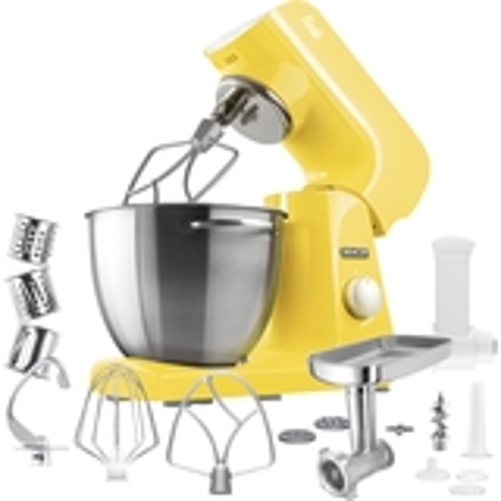 Sencor - Pastel Tilt-Head Stand Mixer - Sunflower yellow