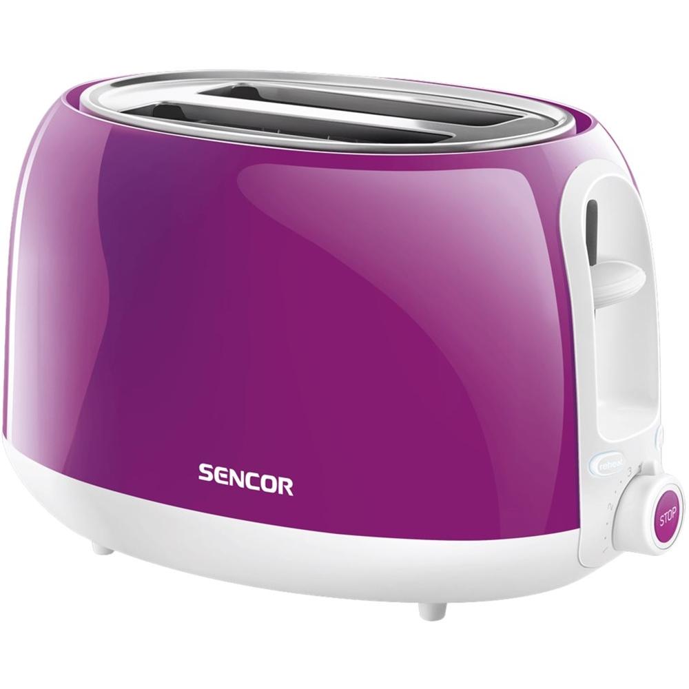 Sencor - STS 2-Slice Regular-Slot Toaster - Purple