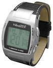 Global - Vibralite 8 Vibrating Watch - Silver Leather 5046044