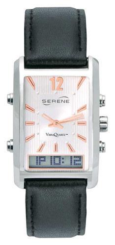 Serene Innovations - Vibraquartz Vq-500 Vibrating Watch - Black Leather 5046071