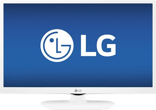 LG - 24 Class (23.8 Diag.) - LED - 1080p - Smart - HDTV - White