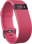Fitbit - Charge Hr Activity Tracker + Heart Rate (small) - Pink 5051202