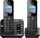 Panasonic KX-TGH262B Link2Cell Cordless Phone