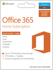Microsoft Office 365 Home (5-PCs or Macs + 5-iPads or Select Windows Tablets) (1 Year Subscription) - Mac/Windows