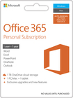 Microsoft Office 365 Personal (1 Mac or PC + 1 iPad or Select Windows Tablet) (1 Year Subscription) - Mac/Windows