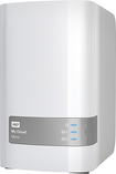 WD - My Cloud Mirror 4TB Personal Cloud Network-Attached Storage Device - White