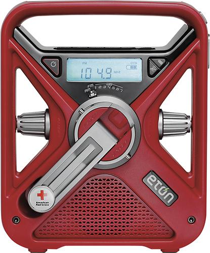 Eton - American Red Cross FRX3 Hand Turbine AM/FM/NOAA Weather Radio