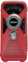 Eton - American Red Cross FRX2 Hand Turbine AM/FM/NOAA Weather Radio - Red