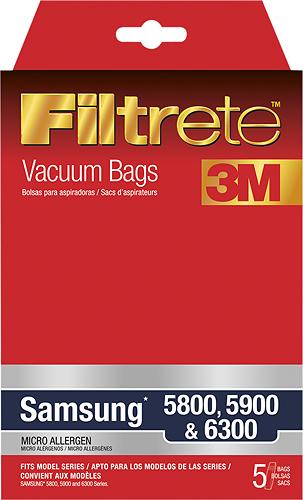 Filtrete - 3M Vacuum Bag for Select Samsung Vacuums