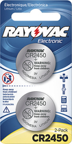 Rayovac - Cr2450 Batteries...