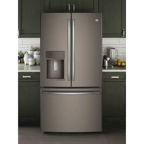 GE   Profile Series 22.2 Cu. Ft. French Door Counter Depth Refrigerator