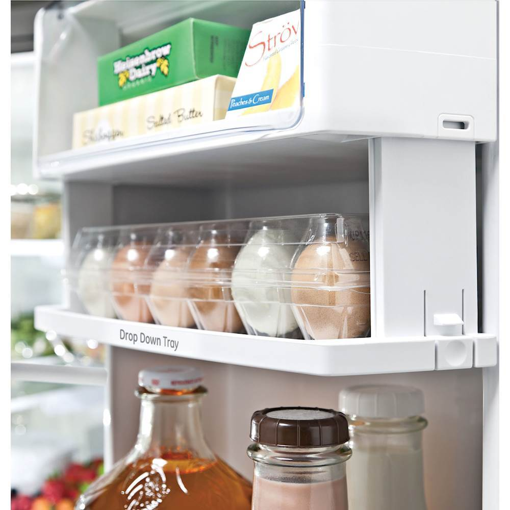 Ge profile series 231 cu ft french door counter depth ge profile series 231 cu ft french door counter depth refrigerator stainless steel at pacific sales rubansaba