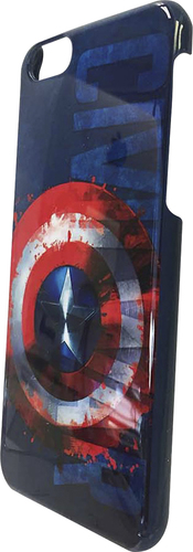Marvel - Back Cover for Apple iPhone 6 and 6s - White/Blue/Red