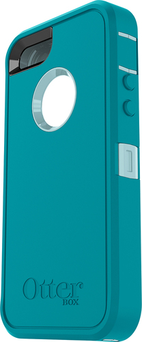 OtterBox - Defender Series Protective Cover for Apple iPhone SE - Blue