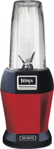 Ninja - Nutri Ninja 24-oz. Blender - Red 5076200