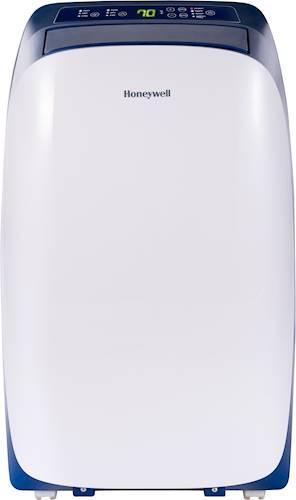 Honeywell - 12,000 BTU Portable Air Conditioner - Blue/White