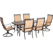 Click here for Hanover - Manor Dining Set (7-piece) - Cast/sling... prices