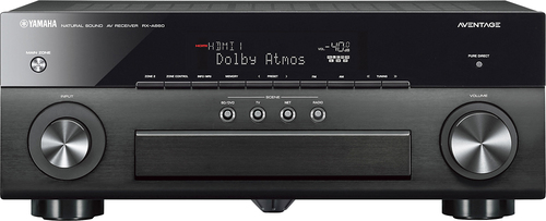 Yamaha - Aventage 900W 7.2-Ch. Network-Ready 4K Ultra HD and 3D Pass-Through A/V Home Theater Receiver - Black