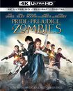 Pride And Prejudice And Zombies [includes Digital Copy] [4k Ultra Hd Blu-ray/blu-ray] 5082008