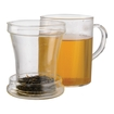 Primula - 12-oz. Personal Tea Maker Set - Clear