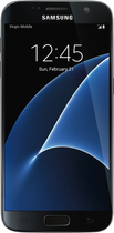 Virgin Mobile - Samsung Galaxy S7 4g With 32gb Memory No-contract Cell Phone - Black Onyx
