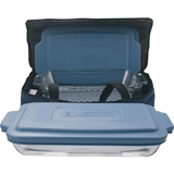 Anchor Hocking - 6-Piece Bake and Take Set - Clear/Blue