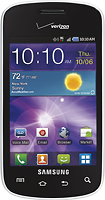 Verizon Wireless Prepaid - Samsung Illusion No-Contract Mobile Phone - Platinum