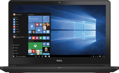 Dell - Inspiron 15.6 Laptop - Intel Core i7 - 8GB - 1TB Hard Drive + 128GB Solid State Drive - Black