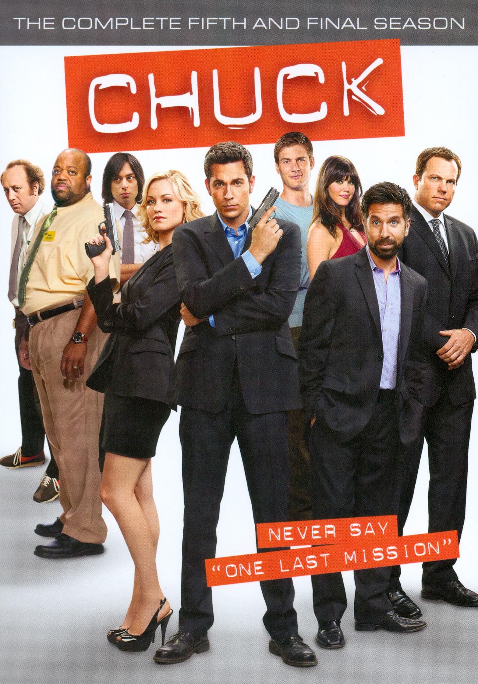 Chuck: The Complete Fifth Season [3 Discs] (dvd) 5089015