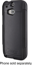 OtterBox - Commuter Series Case for HTC One (M8) Cell Phones - Black