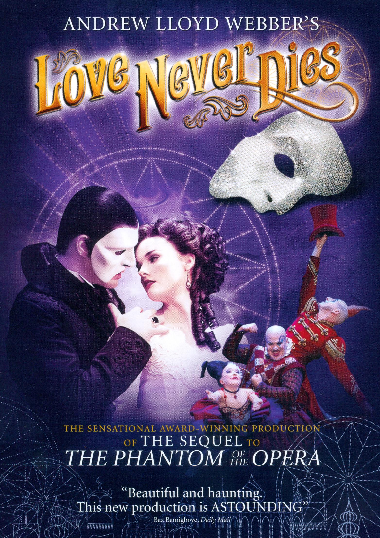 Andrew Lloyd Webber's Love Never Dies (dvd) 5089989