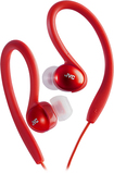 JVC - Sport Clip Headphones - Red