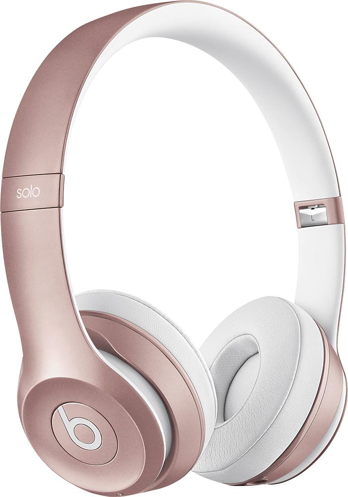Beats by Dr. Dre - Solo2 On-Ear Wireless Headphones - Rose Gold