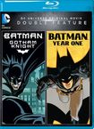 Dc Universe Original Movie Double Feature: Batman: Gotham Knight/batman: Year One [blu-ray] 5091202
