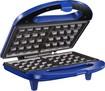 Insignia - Dual Waffle Maker - Blue