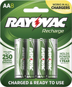 Rayovac - Rechargeable AA Batteries (8-Pack) - Green
