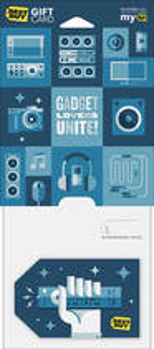 Best Buy Gc - $30 Gadget Lovers Unite Gift Card