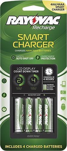 Rayovac - NiMH/NiCad AA/AAA Battery Charger