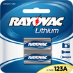 Rayovac - 123A Batteries (2-Pack) - Silver/Blue