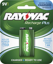 Rayovac - Rechargeable 9V Battery - Green