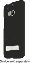 PT - Kickstand Case for HTC One M8 Cell Phones - Black
