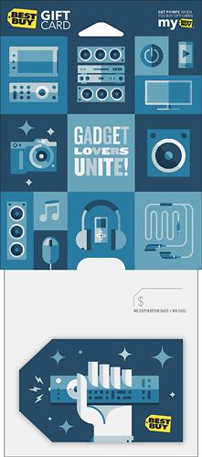 Best Buy GC - $200 Gadgit Lovers Unite Gift Card - Multi