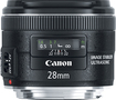 Canon - Ef 28mm F/2.8 Is Usm Wide-angle Lens - Black