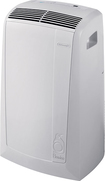 DeLonghi - Pinguino 12,000 BTU Portable Air Conditioner - White