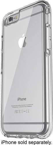 OtterBox - Symmetry Series Back Cover for Apple iPhone 6 and 6s - Clear