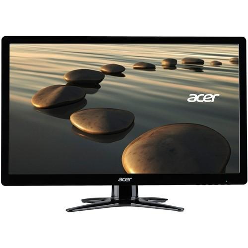 Acer - Refurbished 21.5 LED Monitor - Black