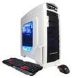 CyberPowerPC - Mega Miner Desktop - AMD FX-Series - 8GB Memory - 1TB Hard Drive - White/Blue