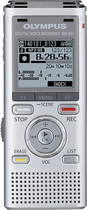 Olympus - WS-821 Digital Voice Recorder - Silver
