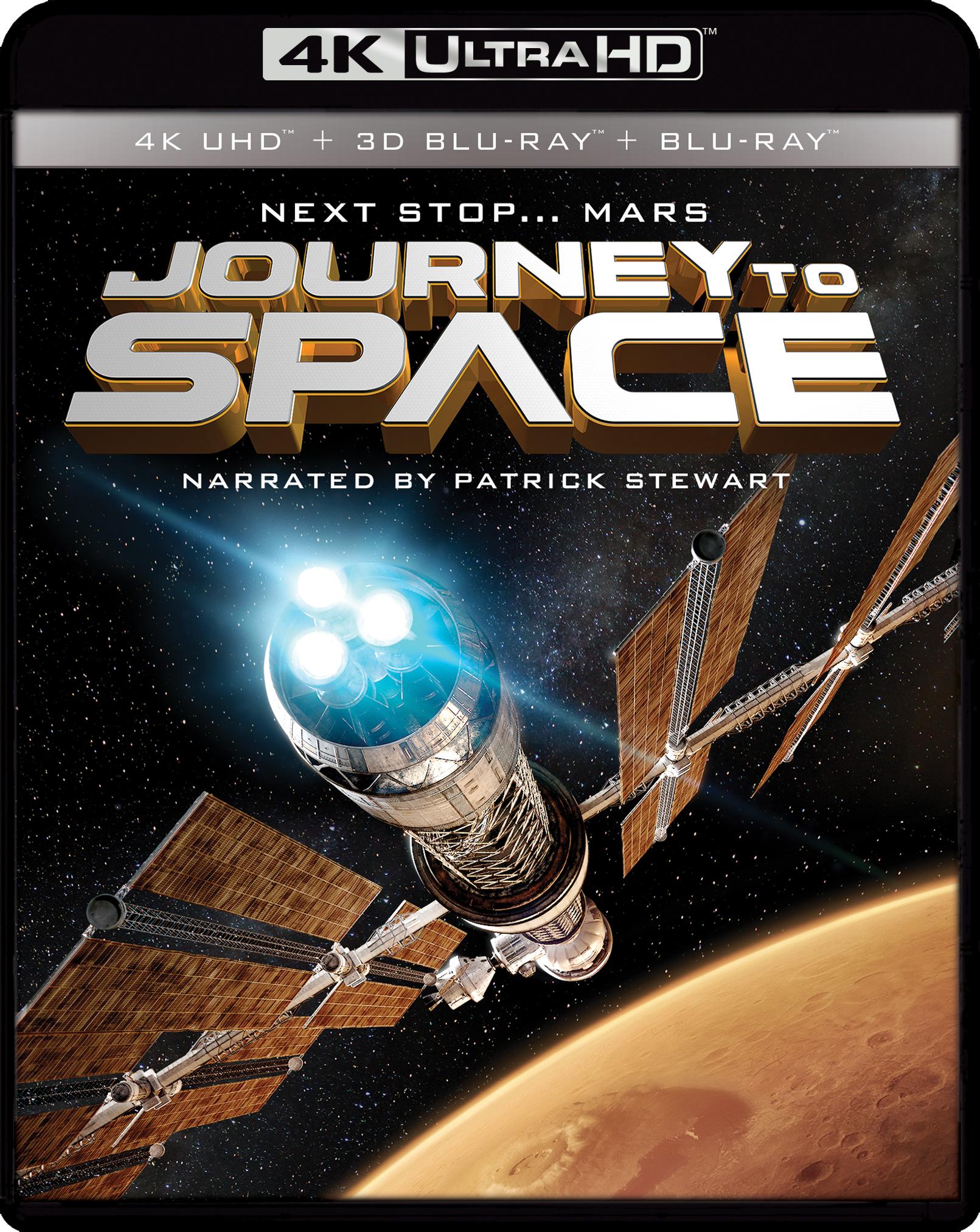 Imax: Journey To Space [4k Ultra Hd Blu-ray/blu-ray] [3d] [3 Discs] 5113802